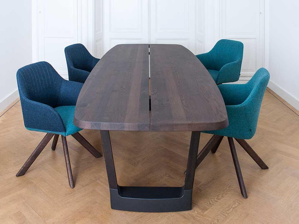 Arco-Ease-eetkamerstoel-stof-blauw-2