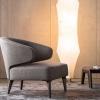 Minotti-Aston-fauteuil-grijs-stof