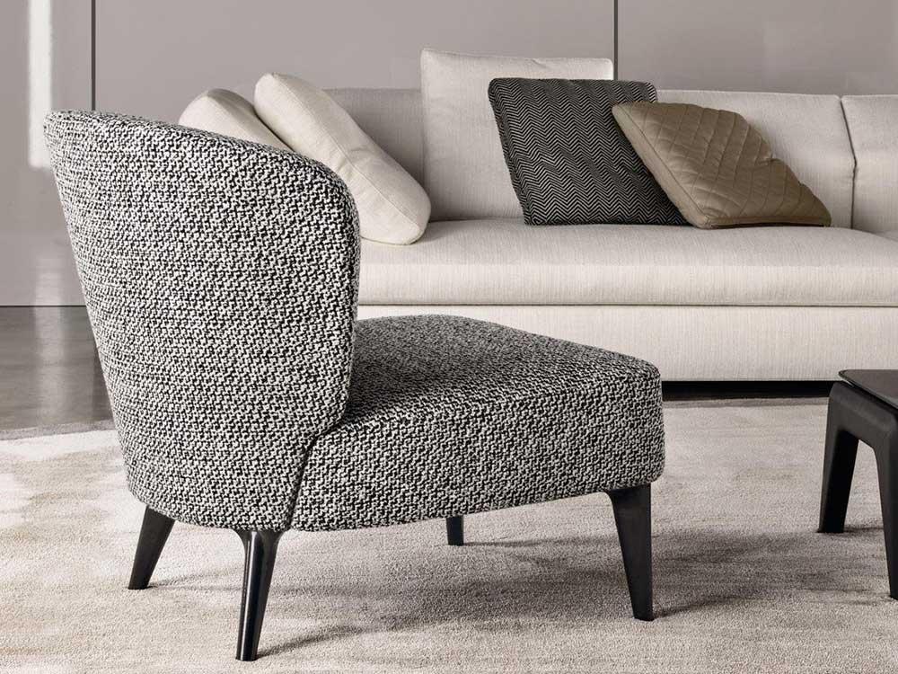 Minotti-Aston-fauteuil-grijs-stof-2