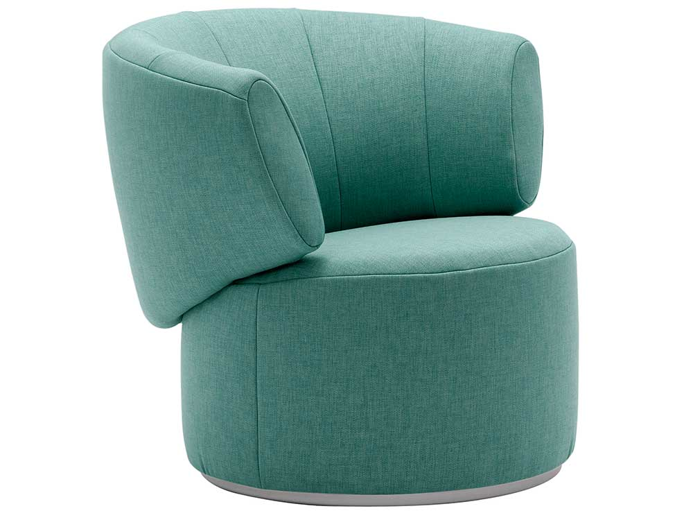 Rolf-Benz-684-fauteuil-groen-stof
