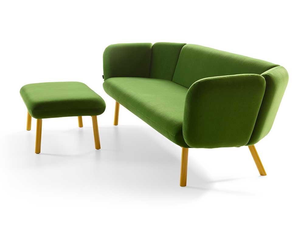 Artifort-Bras-bank-stof-groen-2