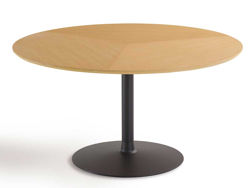 Conference table circle from artifort designed by pierre pauli