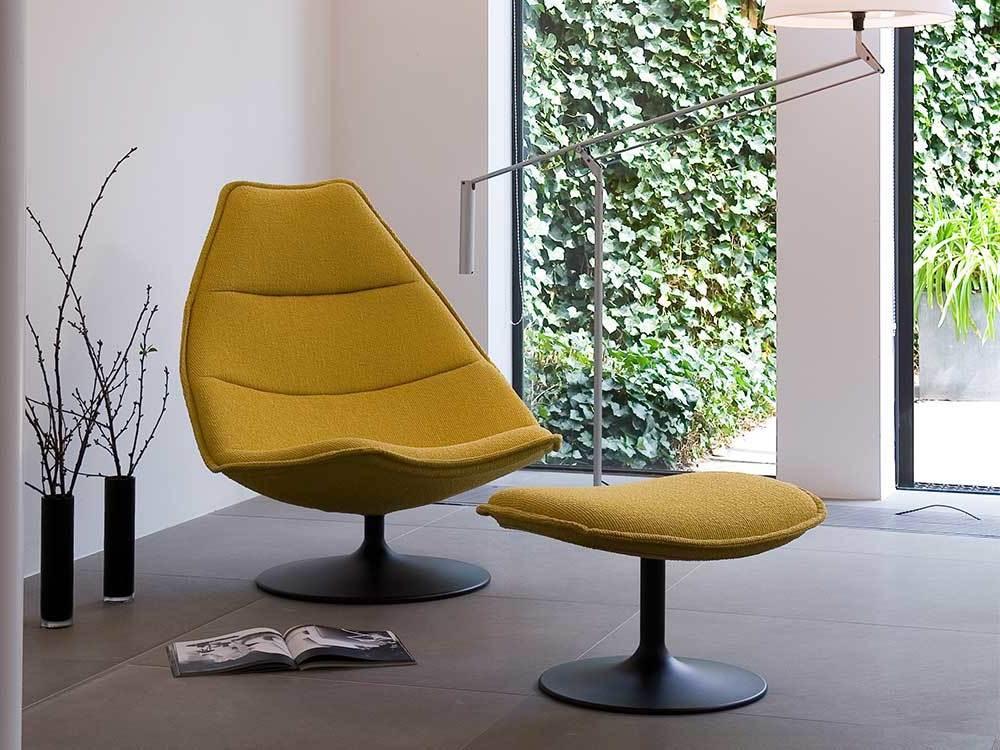 Artifort-fauteuil-510-511-stof-geel-sfeer