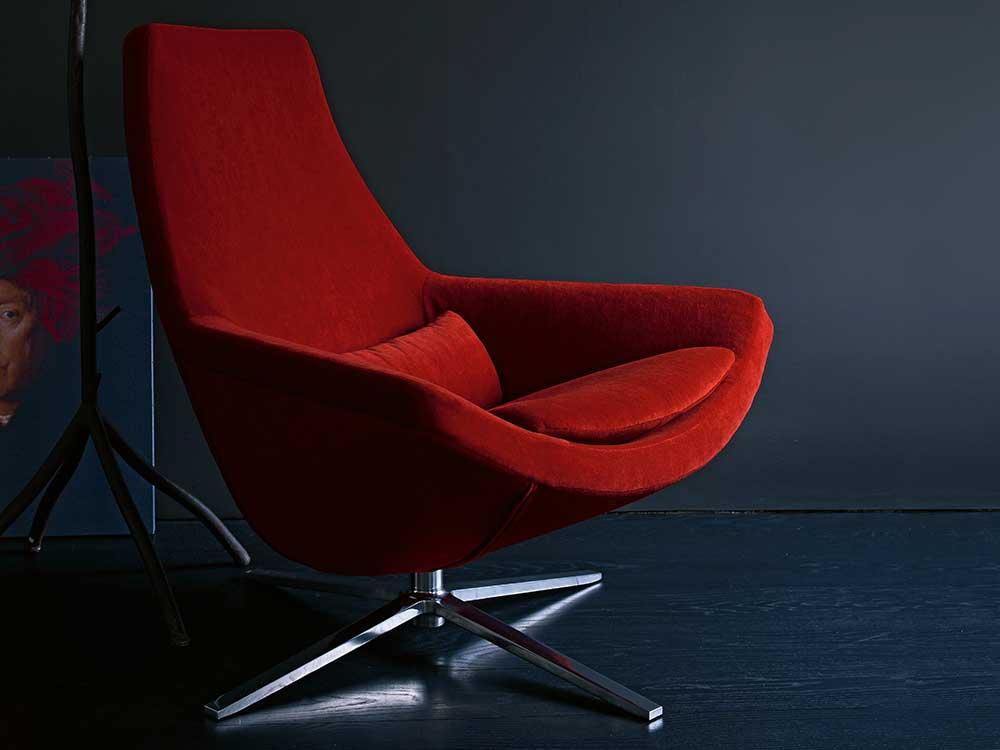 B&BItalia-metropolitan-fauteuil-hoog-stof-rood-2