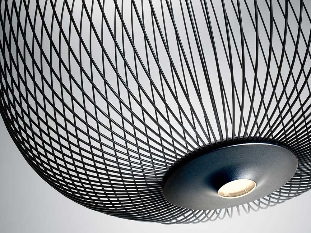 Foscarini-Spokes 2-Hanglamp-Detail-Zwart-01