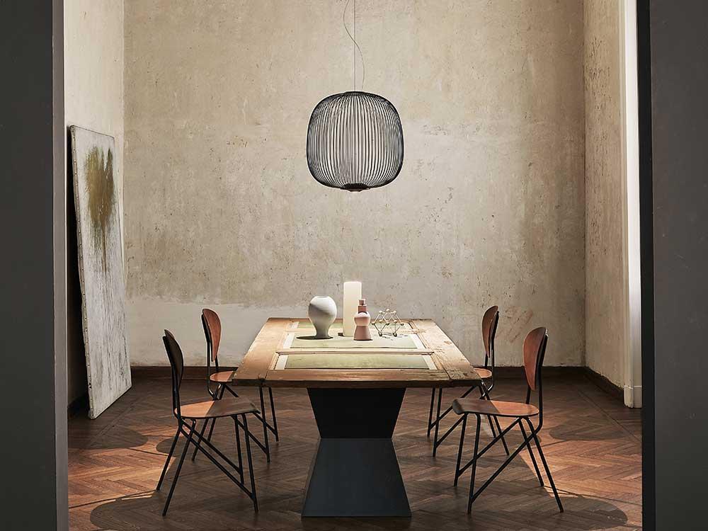 Foscarini-Spokes 2-Hanglamp-Zwart-01
