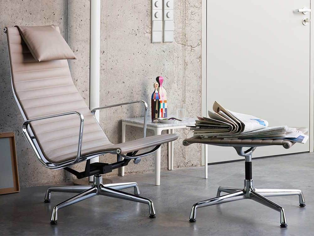 Vitra-Aluminium-Chair-fauteuil-leder-naturel