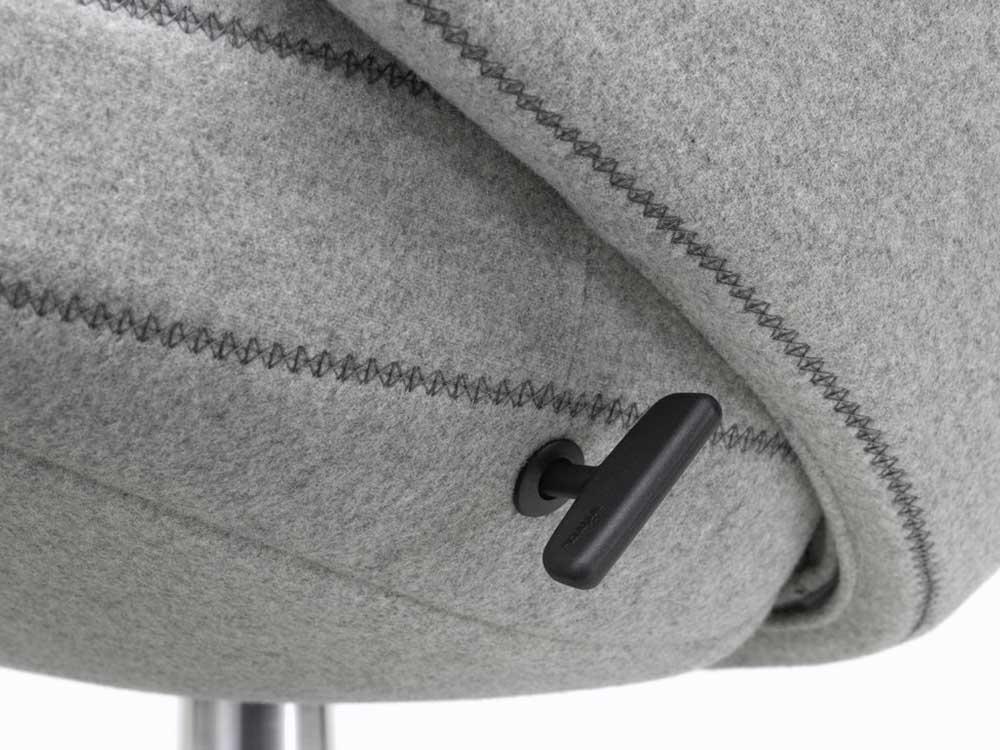 Vitra-Repos-Fauteuil-stof-grijs-detail