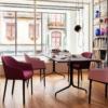 Vitra-Softshell-Chair-eetkamerstoel-roze-rood-sfeer