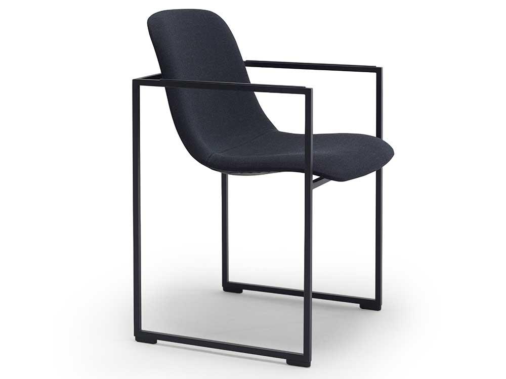 arco-frame-xl-eetkamerstoel-stof-zwart