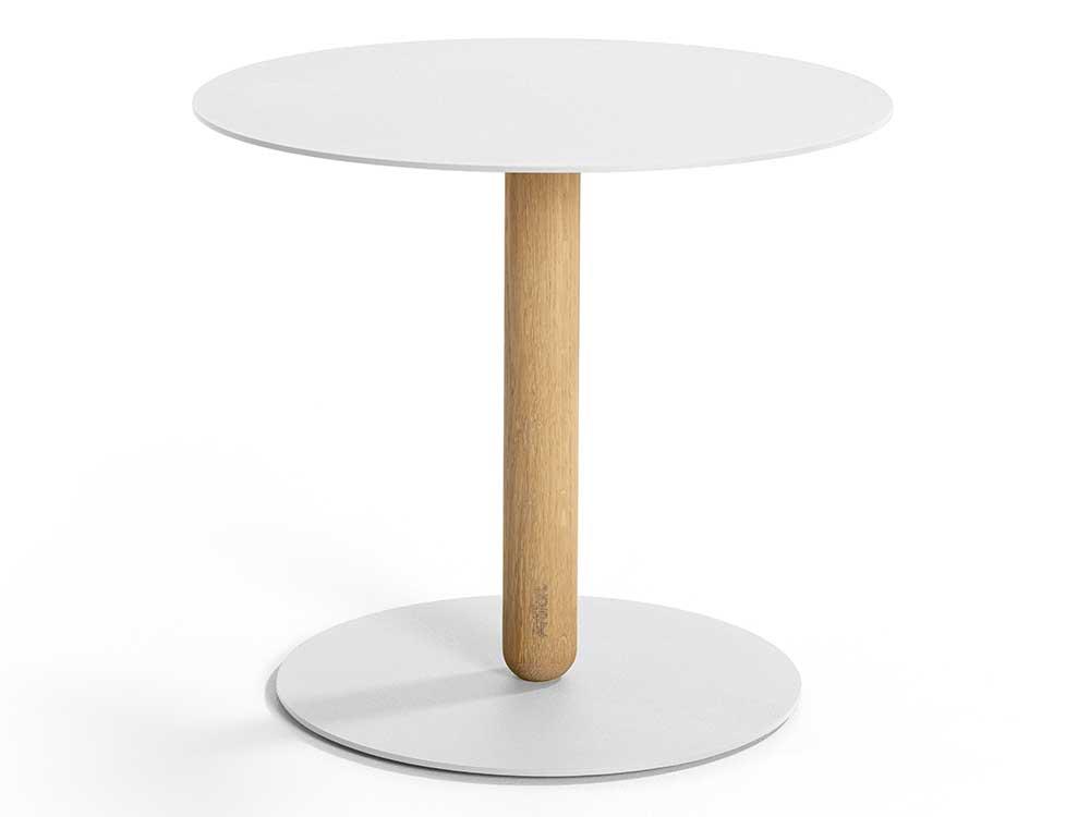 Tafel Rond Wit : Artifort balans bijzettafel cilo interieur