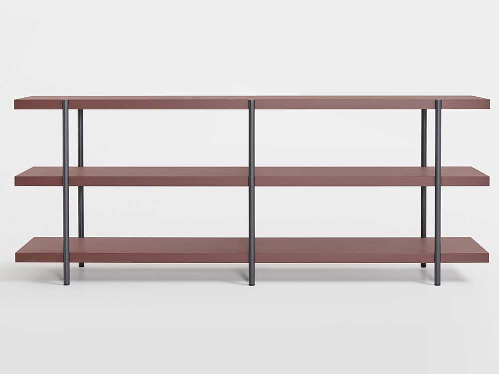 Artifort-Palladio-Shelves-Metaal-DonkerBruin-01