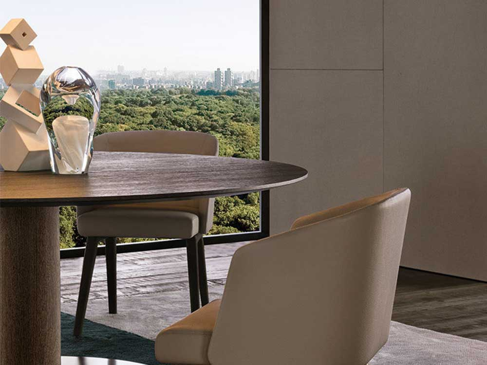 Minotti-Dining-Wood-eettafel-rond-sfeer-2