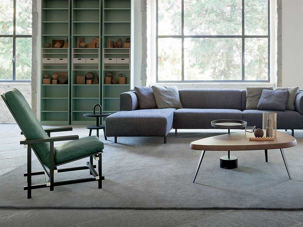 cassina-red-and-blue-fauteuil-groen-leer-sfeer