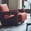 cassinautrecht-fauteuil-rood-leer-sfeer