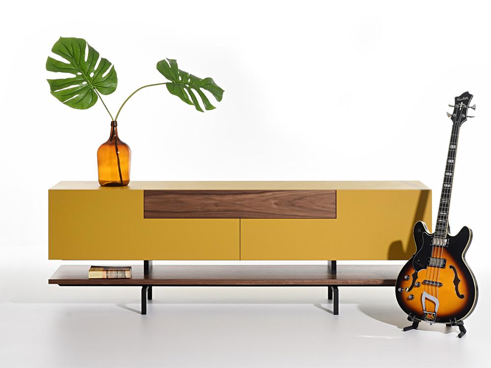 castelijn-solo-kast-geel-hout