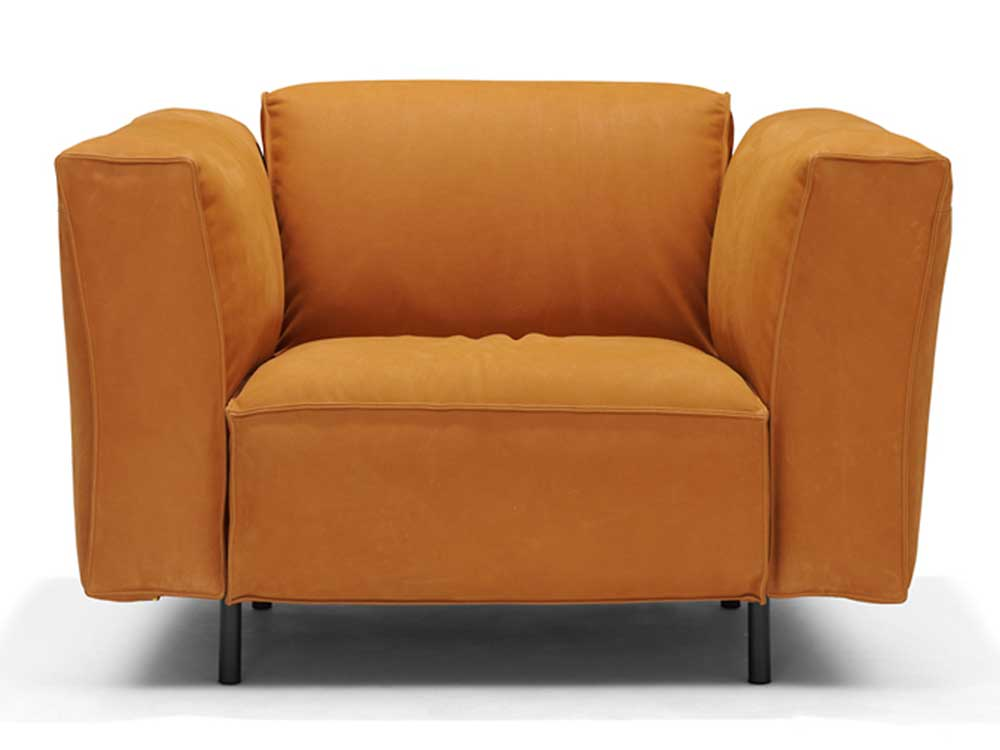 linteloo-andy-fauteuil-oranje-stof-2