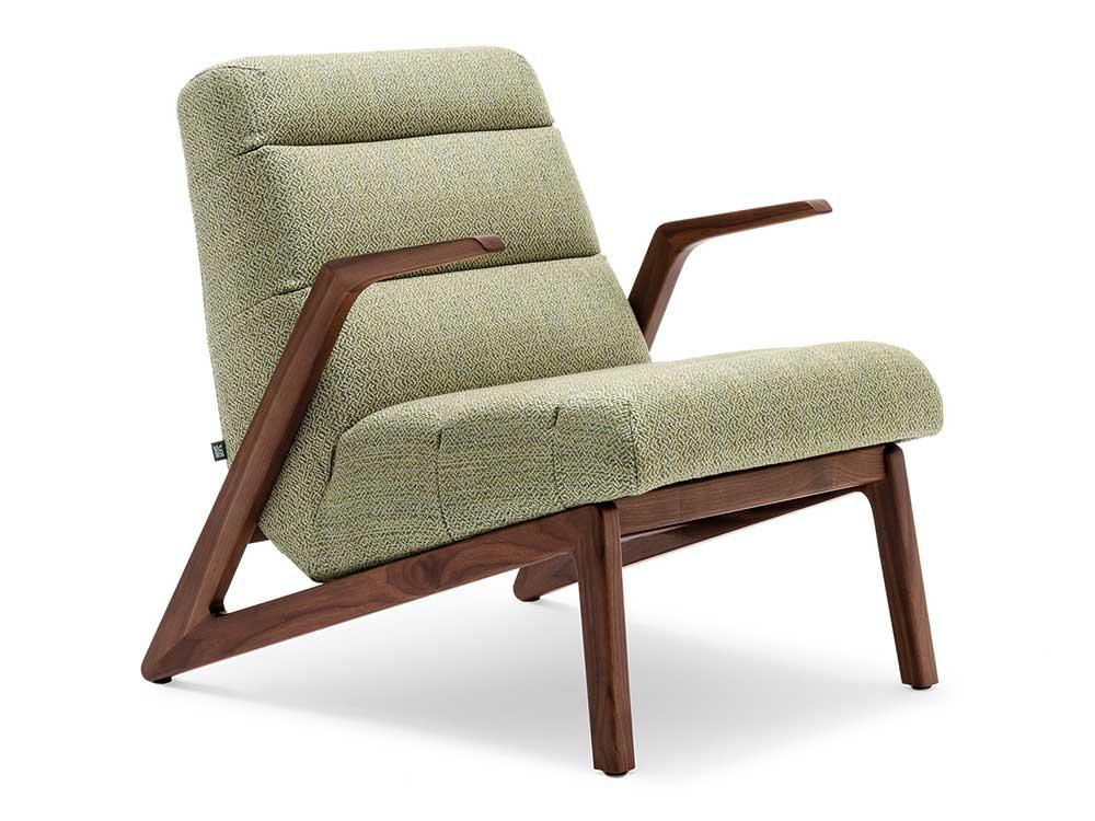 rolf-benz-580-fauteuil-groen-stof