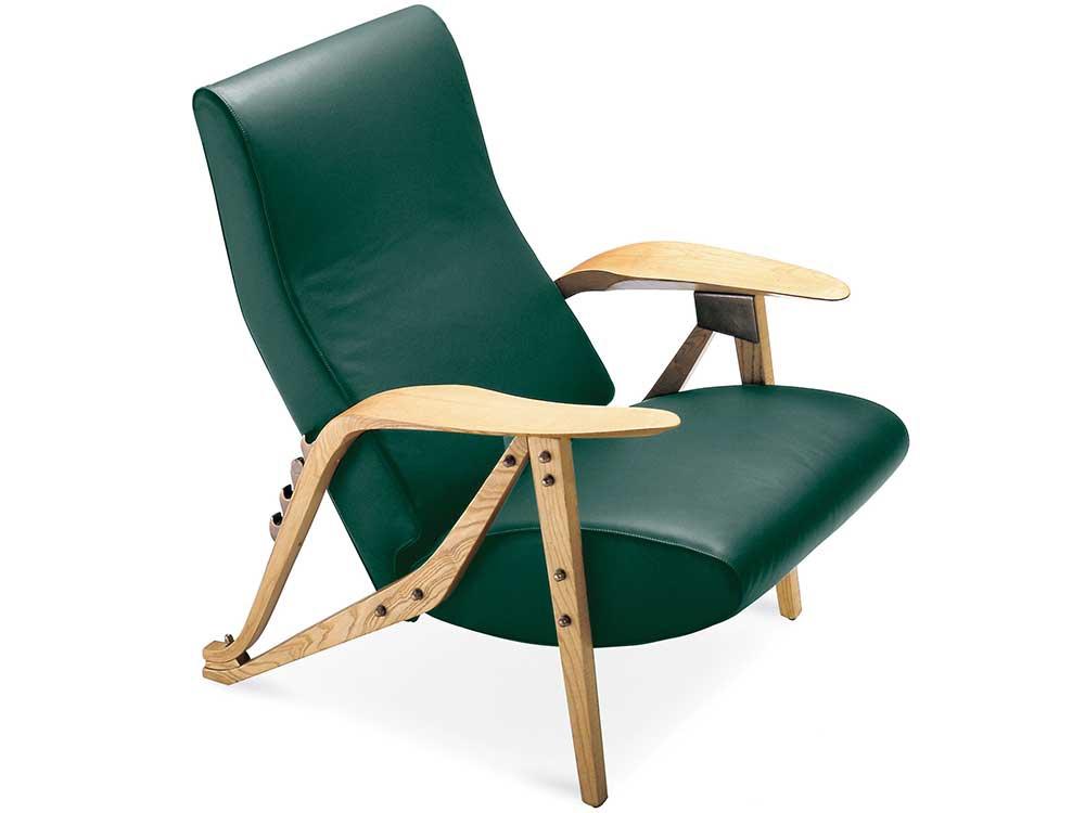 zanotta-gilda-fauteuil-groen-leer