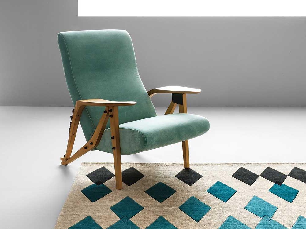 zanotta-gilda-fauteuil-groen-stof-sfeer