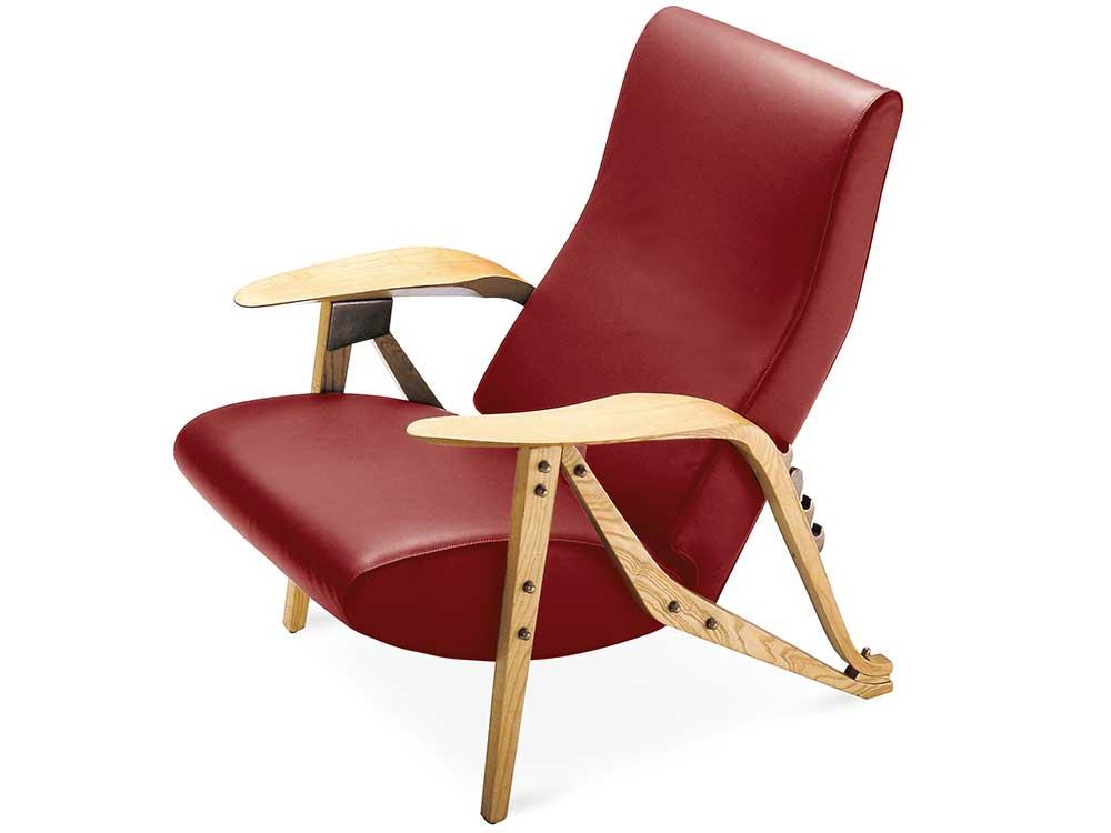 zanotta-gilda-fauteuil-rood-leer