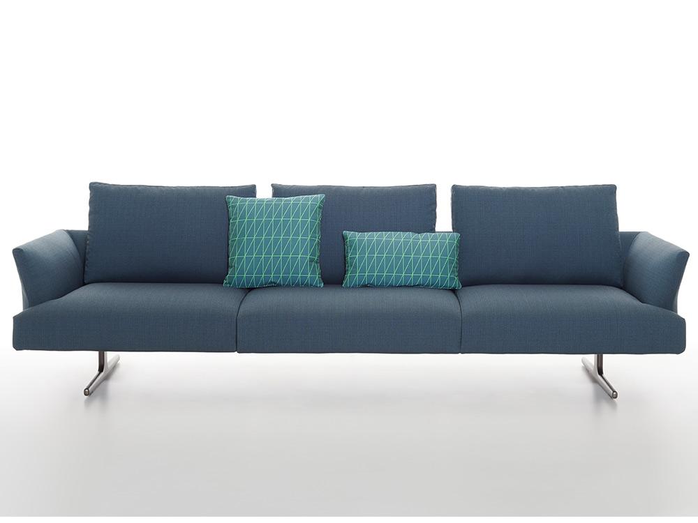 zanotta-hiro-bank-blauw-stof