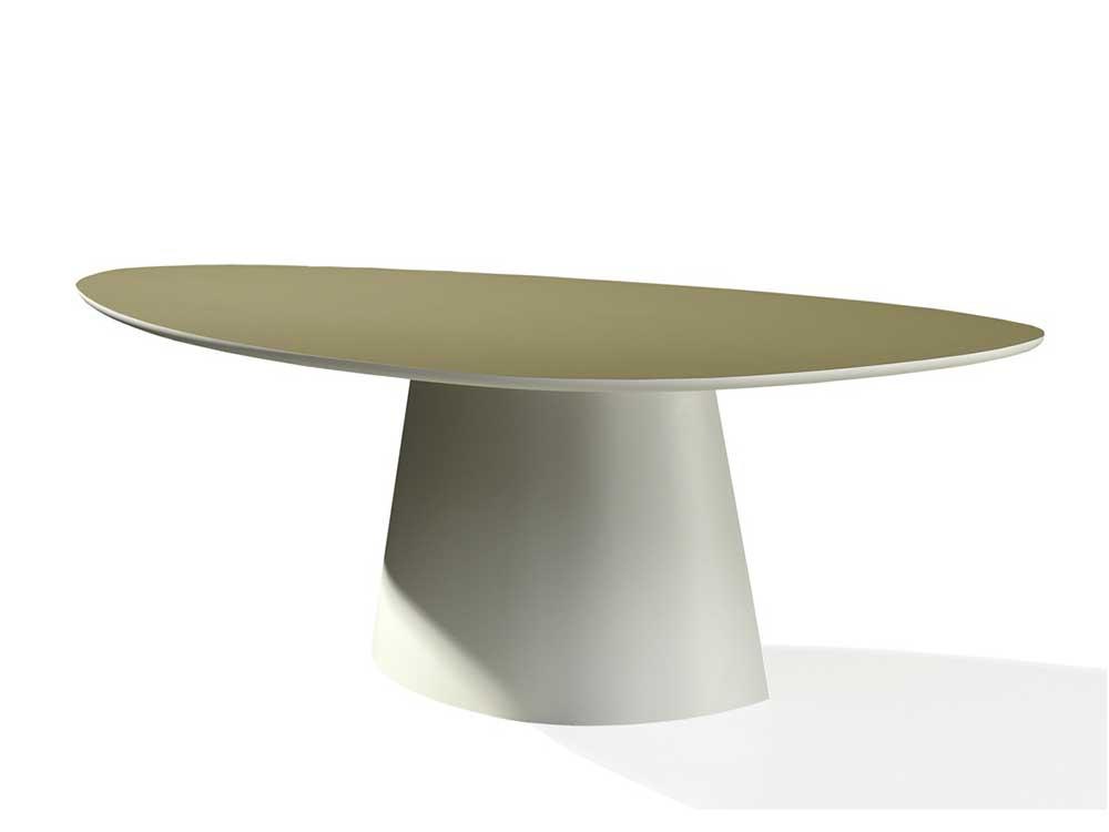 Castelijn-Circlips-eettafel-hout-ovalen-onderstel-1