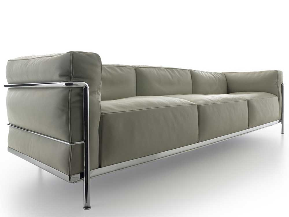 cassina-lc3-bank-beige-leer