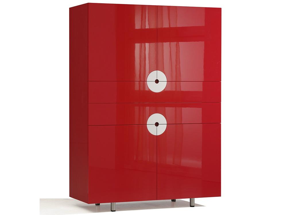 castelijn-disk-kast-rood