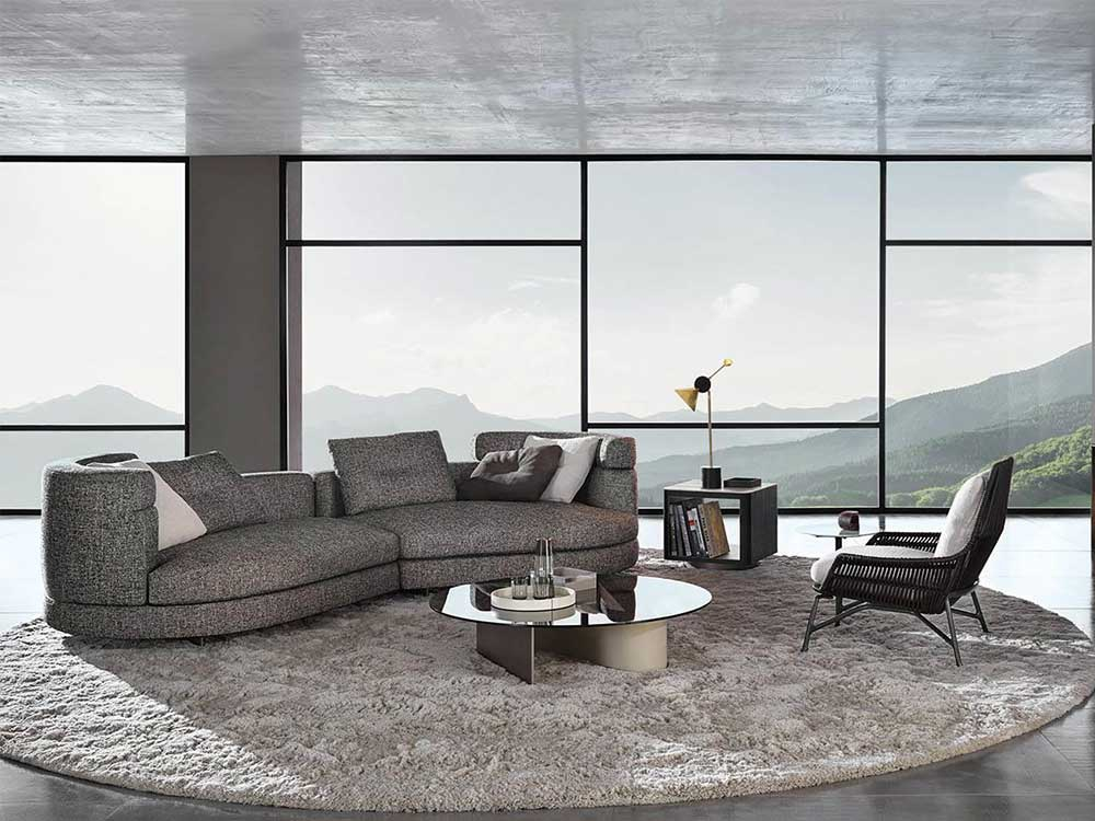 Design Bank Minotti.Minotti Alexander Bank
