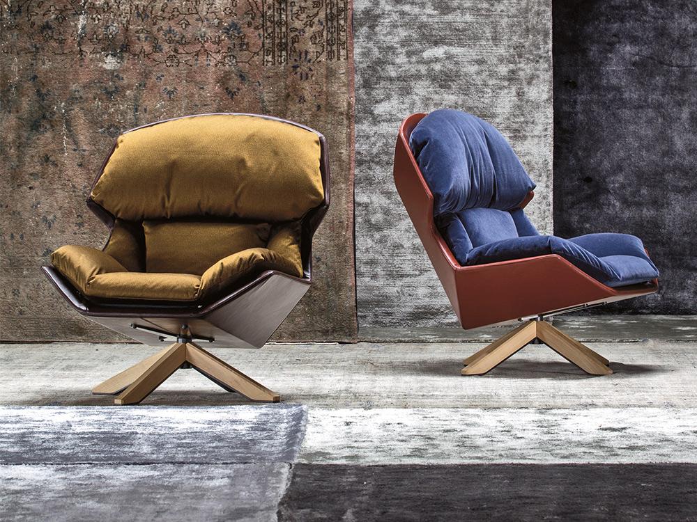 moroso-clarissa-fauteuil-blauw-bruin-stof-sfeer