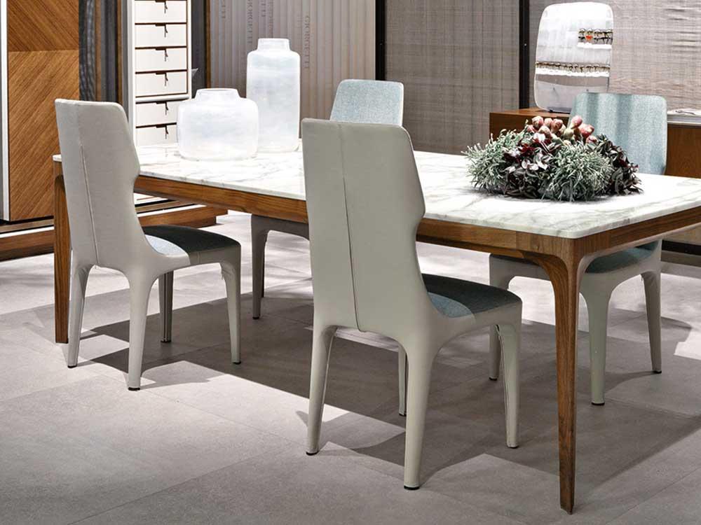 Giorgetti-tiche-stoel-hoog-wit-grijs