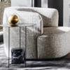 Molteni-Elain-fauteuil-stof-grijs