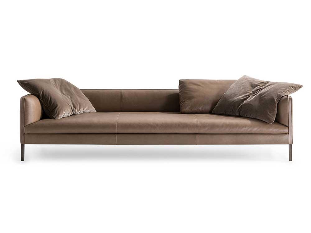 Molteni-Paul-sofa-beige-leer