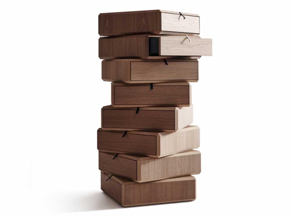 Molteni-theorema-kast-element-hout-lades