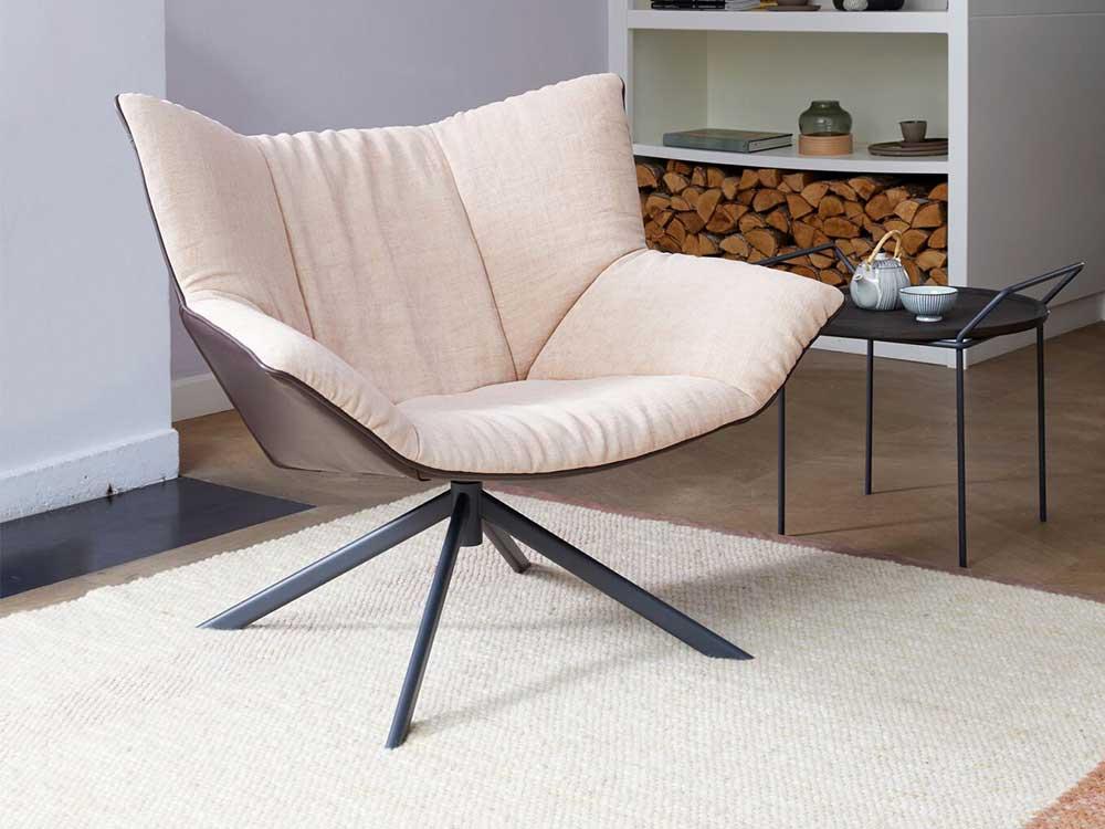 Label-Gustav-fauteuil-leder-bruin-stof-naturel-1