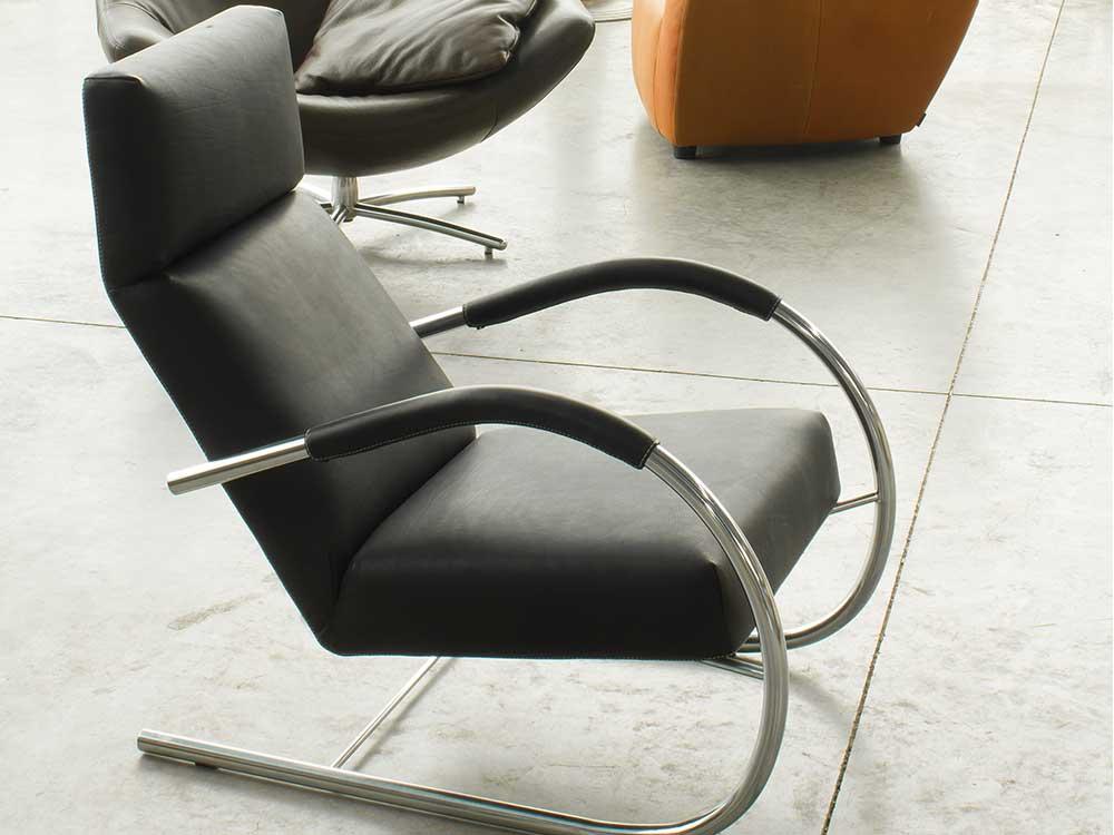 Speedster-fauteuil-leer-zwart-sfeer2