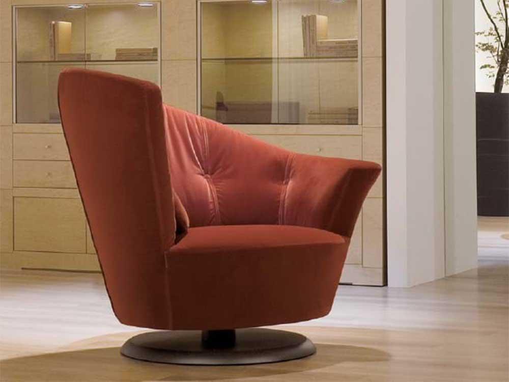 Giorgetti-arabella-fauteuil-stof-rood-sfeer