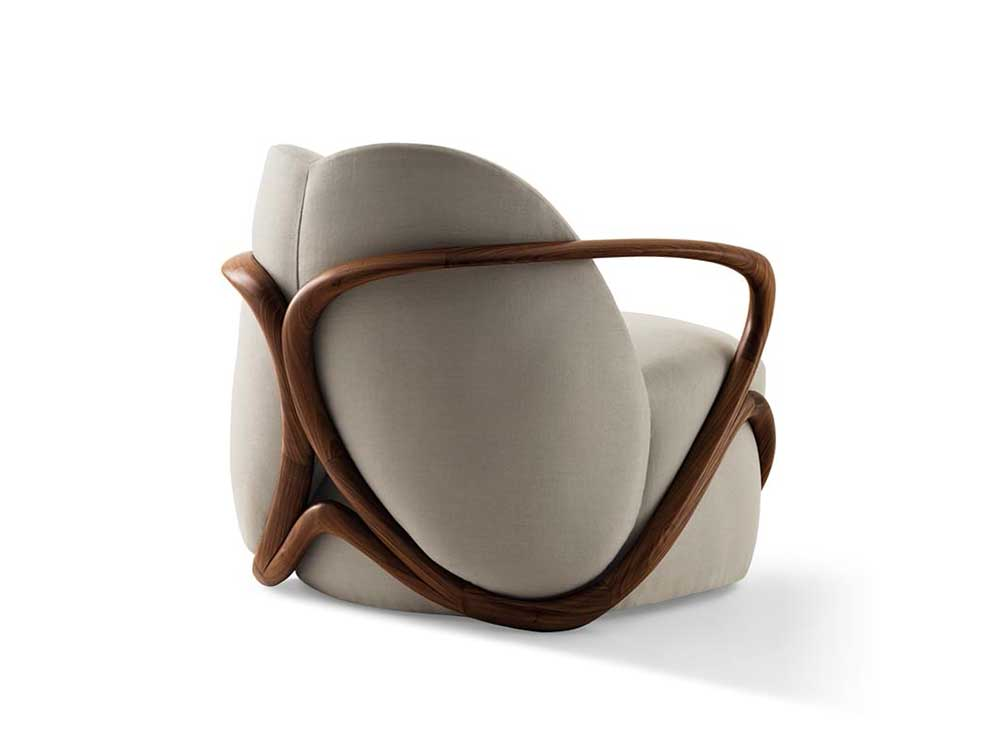 Giorgetti-hug-fauteuil-stof-beige-2