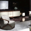 Giorgetti-hug-fauteuil-stof-beige-sfeer