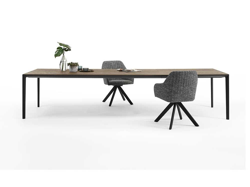 Arco-shift-eettafel-hout-bruin-zwart-4