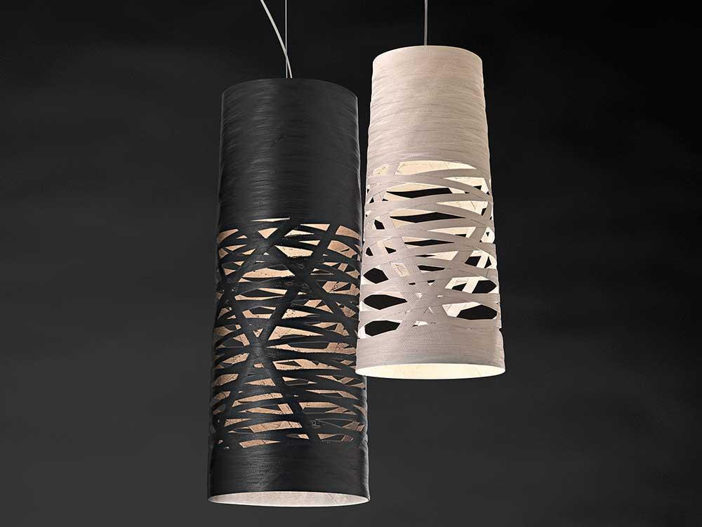 Foscarini-Tress-hanglamp-zwart-wit