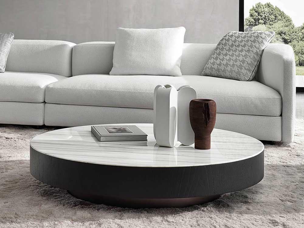 Salon Tafel Zwart Wit.Minotti Milton Salontafel Cilo Interieur