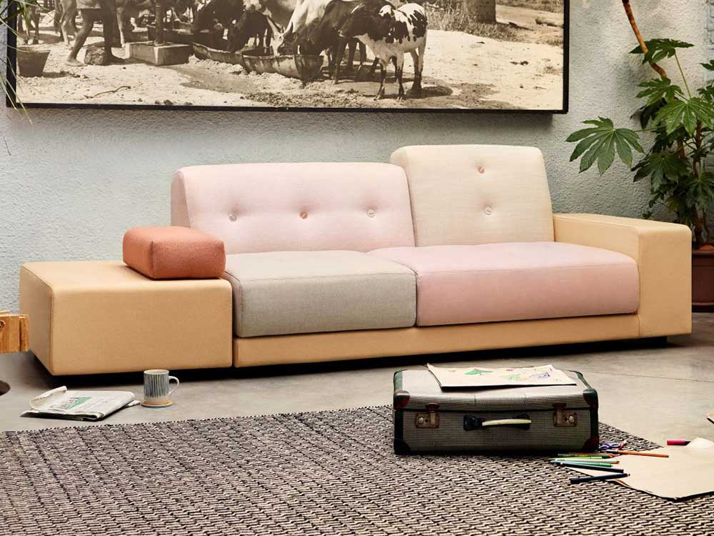 Astounding Vitra Polder Sofa Bank Creativecarmelina Interior Chair Design Creativecarmelinacom